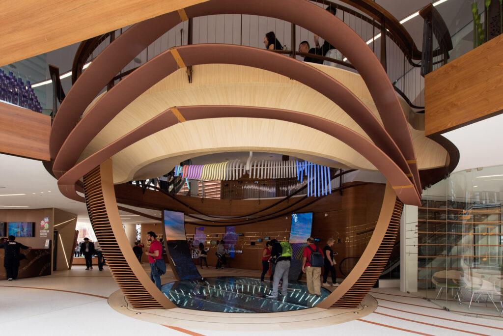 World Expo 2015 Milan, Azerbaijan pavilion, designed by Simmetrico Network, Arassociati architects